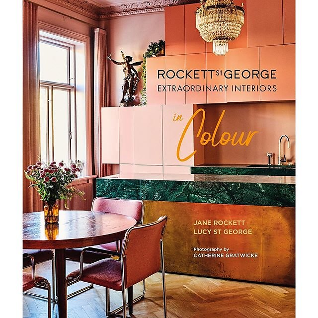 New Exciting Book - Extraordinary Interiors in Colour by @rockettstgeorge @rylandpetersandsmall ~ Out in October #extraordinary #colour #rockettstgeorge .