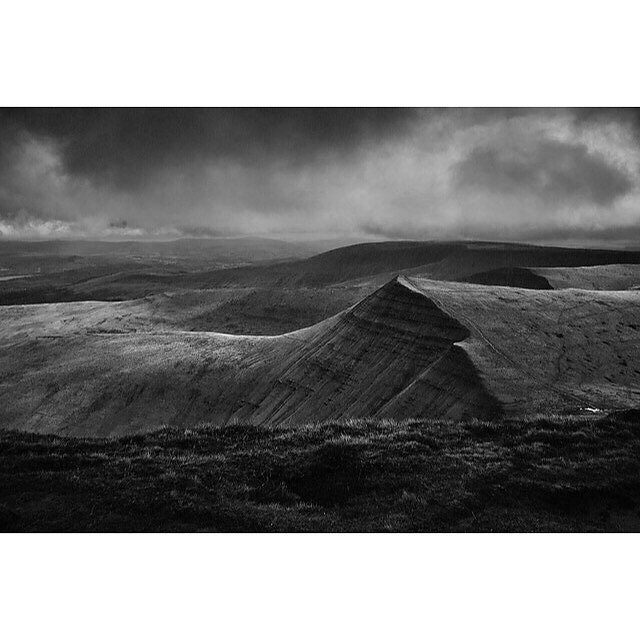 Collecting my landscapes together this week and putting them in a book... #breaconbeacons #moodylandscape .