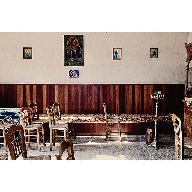 Interior of The Church of the Virgin Mary in Skopelos town... .